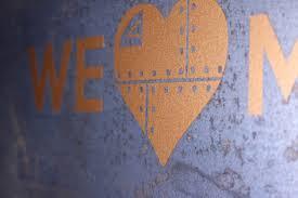 We Love Metal Copper Vinyl Decal Coburn S Exclusive