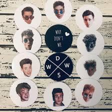 Why Don T We Complete Decal Pop Socket Sticker Set Depop