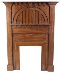 arts crafts fireplace mantels home