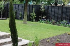 Back To Black Caroline Garland Garden Fence Paint Black Garden Fence Garden Design