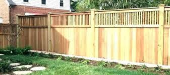 Backyard Fence Design Ideas Naomidecordesign Co
