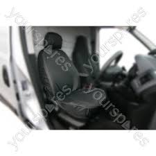 seat covers front set black ford
