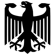Decals Bumper Stickers Coat Of Arms Of Germany German Eagle Vinyl Car Decal Bumper Sticker Color Name Size 10cm High Cbib Cl