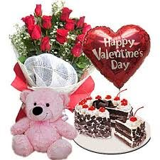 ultimate romantic combo ferns n petals