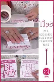 Know Your Transfer Tape Best Vinyl Transfer Tape And How To Use Properly Expressions Vinyl