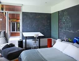 Kids Rooms Creatively Using Chalkboard Paint On Walls Kidspace Interiors