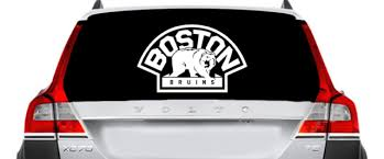 Bruins Inspired Window Car Decal Sport Team Inspired Car Vinyl Decal Ebay Car Decals Vinyl Car Decals Vinyl Decals