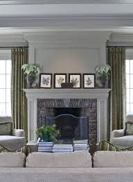 fireplace mantel decorating ideas for a
