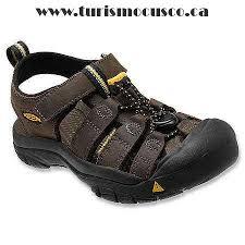 dark brown sandals water boys