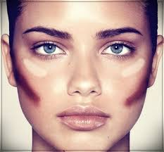 makeup for round faces woman and
