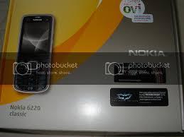 Nokia 6220 Classic : Unboxing pictures ...