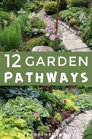 12 stepping stone garden path ideas