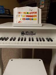 schoenhut 37 key elite baby grand piano