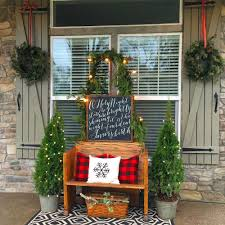 christmas decorations for your front porch