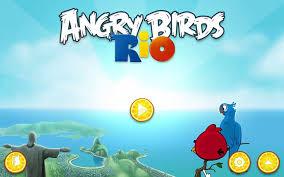 Angry Birds Rio - Golden Fruit Banana Walkthrough Level 4-15 Nigel ...