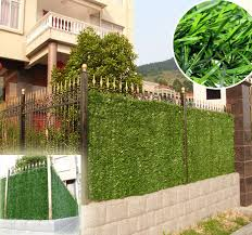 China Artificial Leaf Hedge Privacy Screen Artificial Snake Plant China Artificial Plant And Hedge Fence Price