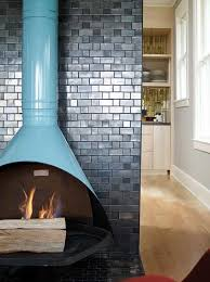 history of this retro cool fireplace
