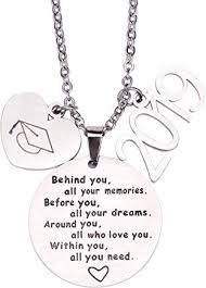 gifts for her pendant jewellery quotes graduation college