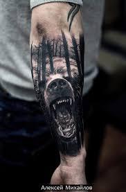 Obraz Tatuazu Niedzwiedzia Tatuaz Niedzwiedz Znaczenie I