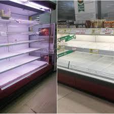 Coronavirus, a Milano supermercati presi d'assalto e scaffali ...