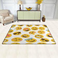 Emoji Area Rugs Room Carpet Rugs Rugs In Living Room