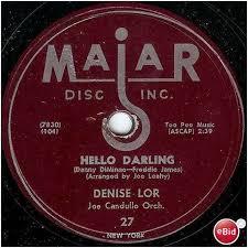 "Majar 78 #27 - Denise Lor & Joe Candullo Orchestra - ""Hello ..."