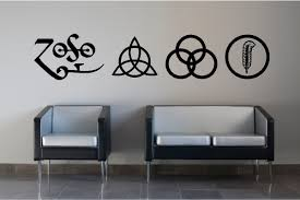 Led Wall Led Zeppelin Wall Decal
