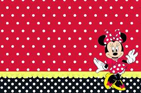 Minnie Rojo Invitaciones Para Imprimir Gratis Ideas Y Material