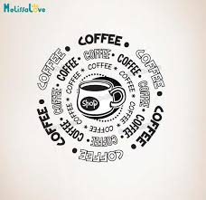New Design Vinyl Wall Decal Home Deocr Living Room Sticker Coffee Shop Self Dehseive Art Murals For Lounge Decoration Yy793 Wall Stickers Aliexpress