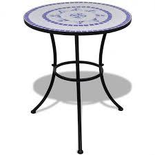garden table round mosaic outdoor patio