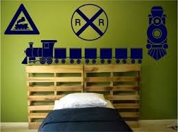Train Wall Decals Set Boys Bedroom Nursery Wall Decals Kaigibsonjusv