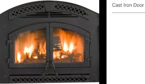 constitution zero clearance wood fireplace