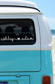 Couples Car Decal Car Sticker Husband Wife Decal Girlfriend Etsy