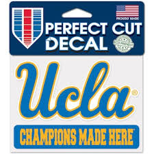 University Of California Los Angeles Car Decals Decal Sets Ucla Bruins Car Decal C Pac 12 Official Online Store