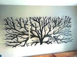 metal leaf wall art gustavoeo net