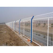 Airport Security Fence Powder Coated Wire Fence Wire Mesh Fences Panel China Manufacturer