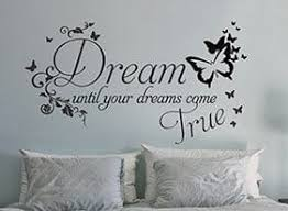 Add This Beautiful Dreams Come True Wall Decal To Your Decor