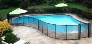 Life Saver Removable Mesh Pool Fences
