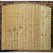 3ft 4ft 5ft 6ft X 6ft Premium Dome Top Featheredge Panels Pressure Treated J Hubbard Son Ltd
