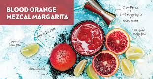 margarita makeover blood orange mezcal