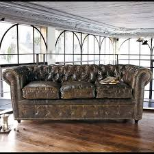 vintage style leather sofas could add