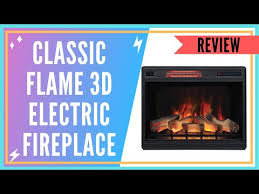 classic flame 3d electric fireplace