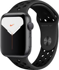 Customer Reviews: Apple Watch Nike Series 5 (GPS) 44mm Space Gray Aluminum  Case with Anthracite/Black Nike Sport Band Space Gray Aluminum MX3W2LL/A - Best  Buy