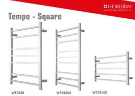 heirloom tempo square towel warmers