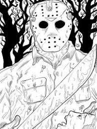 35 Halloween Kleurplaten En Horror Kleurplaten Topkleurplaat Nl