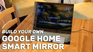 google home enabled smart mirror