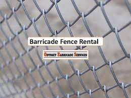 Get Your Barricade Fence Rental Now From Odyssey Barricade