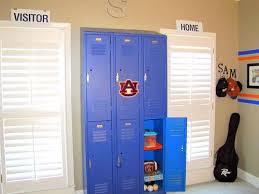 Image Detail For Sports Room Decor Room Decor Storage Kids Room Sports Themed Bedroom Kids Locker