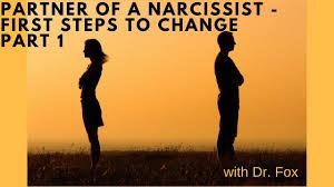 partner of a narcissist first steps