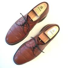 allen edmonds shoes brown cap toe